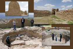 دخمه باستانی تپه قلعه خلچان تفرش ساماندهی می شود
