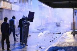 مسيرات ومواجهات في صبيحة الذكرى السادسة لانطلاق ثورة 14 فبراير