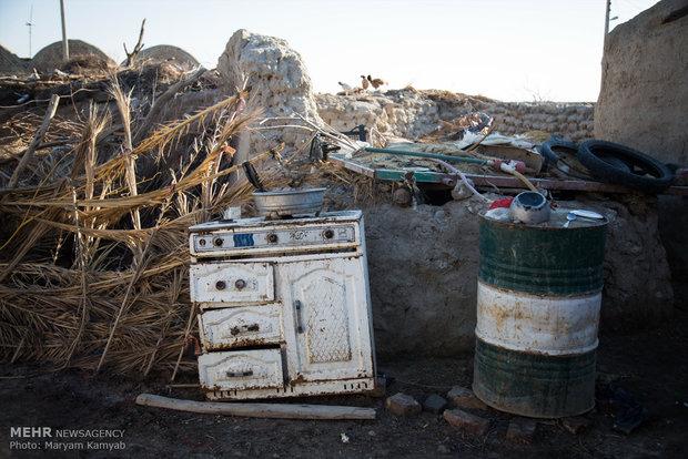 وضعیت خانه های روستای آزادی