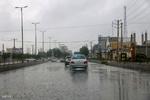 ترافیک نیمهسنگین ۶ محور و بارش باران در ۵ استان