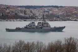 آمریکا مدعی رویارویی «نا امن» جتهای روسیه با ناوشکن خود شد