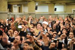 لقاء اهالي محافظة اذربيجان الشرقية مع قائد الثورة الاسلامية / مصور