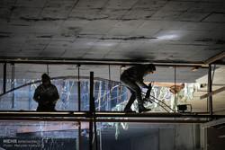 بازدید از تونل های خط 7 مترو تهران