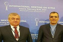اجتماع المبعوث الخاص للرئيس الروسي في الشأن السوري بجابري أنصاري
