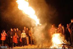 آمادهباش ۱۰۰ آتشنشان کرمانشاهی در چهارشنبه سوری