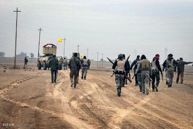 بدء اقتحام معسكر الغزلاني جنوبي الموصل