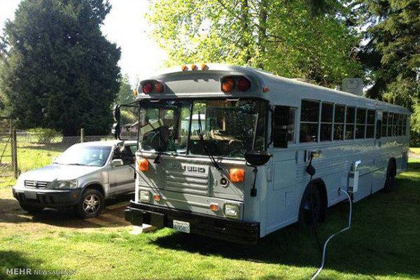 زندگی در اتوبوس مدرسه