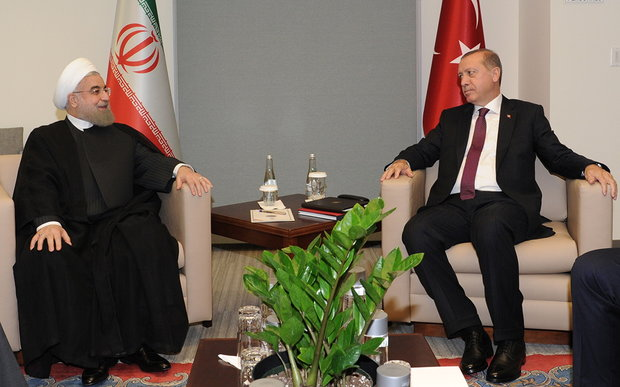 Rouhani vows closer ties with Turkey