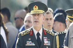 Turkish army chief arrives in Tehran