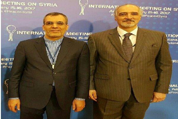 Jaberi Ansari, al-Jafari hold 2nd round of negotiations