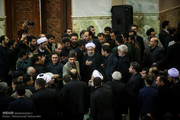 Ceremony commemorates Ayat. Hashemi Rafsanjani