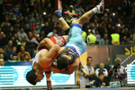 Freestylers stake early claim for Asian Wrestling C'ships title