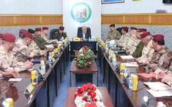العبادي يعقد اجتماعاً طارئاً مع قيادات أمنية وعسكرية في بغداد