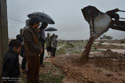 صوبہ فارس کے ضلع داراب میں شدید بارش