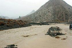جاری شدن سیل در اطراف کرمان و آبگرفتگی منازل مسکونی