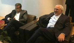 Iranian Foreign Minister Mohammad Javad Zarif in the Munich Security Conference