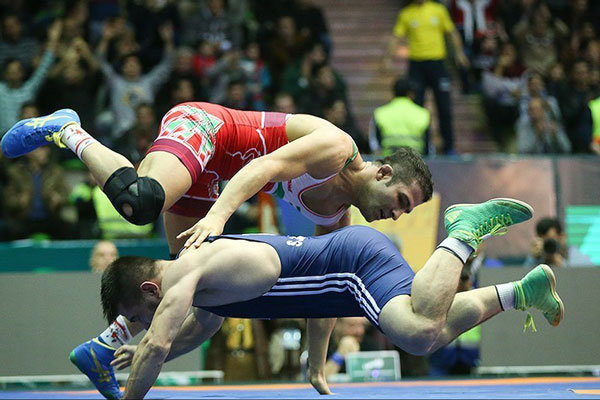 Iran defeats US, claims championship at Wrestling World Cup 2017