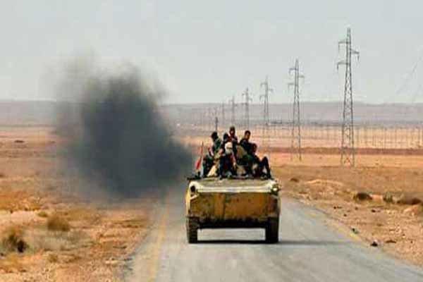 فیلم/ارتش سوریه در شرق حمص به پیشروی ادامه می دهد