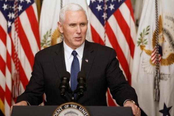 "مايك بنس يجدد ولاء واشنطن ل""اسرائيل"" ضد ايران"