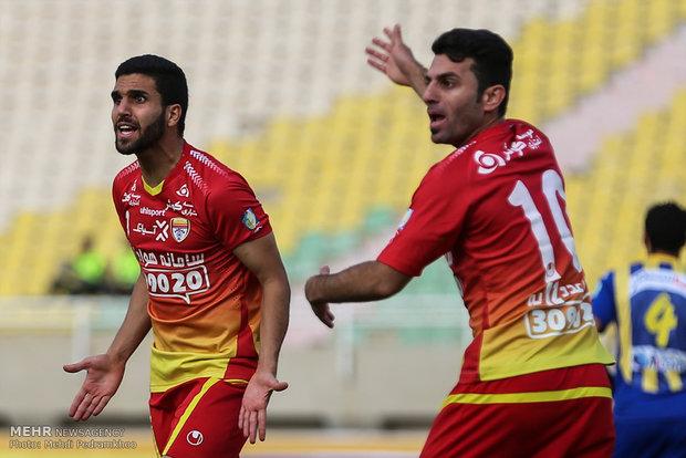 تعادل فولاد خوزستان وفولاد تبريز في الدوري الممتاز