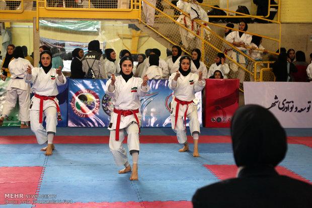 کاراته کاهای راه یافته به اردوی تیم ملی بانوان مشخص شدند