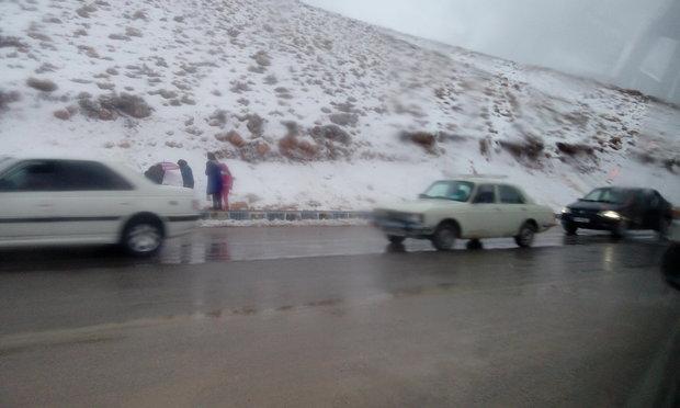 برف در چهارمحال و بختیاری