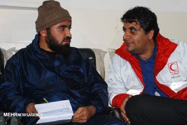 اعلام آماده باش در استان بوشهر نجات ۲ خودرو سواری با ۶ سرنشین در سیلاب دیر