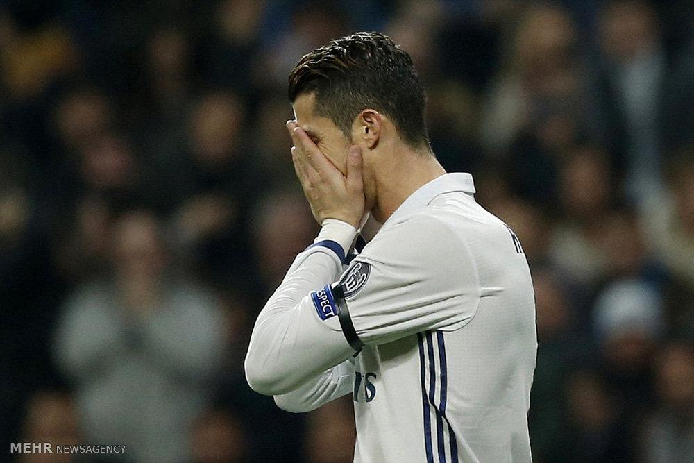 دیدار تیم های فوتبال رئال مادرید و ناپولی