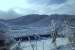 دمای هوای کوهرنگ به منفی ۱۵ درجه رسید