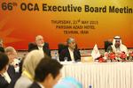 حضور کیومرث هاشمی در شصت و نهمین نشست هیات اجرایی OCA