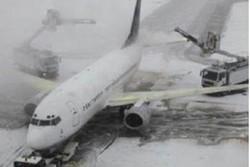 فرودگاه در برف