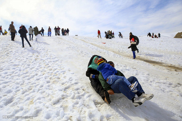 Winter recreation in Shemshak, Telo ski resorts