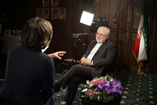 Iranian Foreign Minister Mohammad Javad Zarif's words to CNN reporter Christiane Amanpour