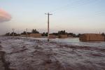 ۱۰ روستای شهرستان دیر در محاصره سیل است