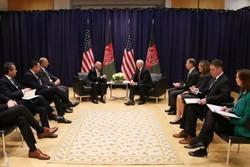 «اشرف غنی» با معاون رئیس جمهوری آمریکا دیدار کرد