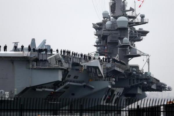 «کارل وینسون» به دریای چین جنوبی بازگشت
