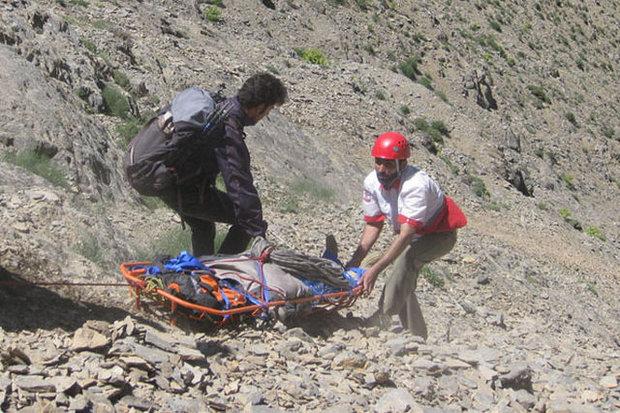 مرگ جوان ایلامی بر اثر سقوط از ارتفاعات کوه قلارنگ