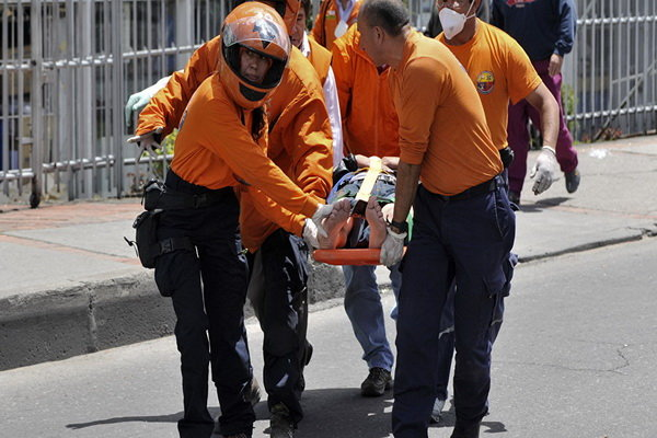 مقتل 11 شخصا في انفجار في وسط العاصمة الكولومبية