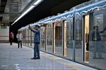 ورود ۵ واگن قطارشهری مونتاژ داخل به مشهد
