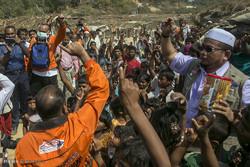 ارسال کمک به مسلمانان روهینگیا