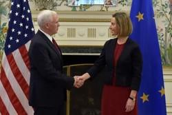 آمریکا به دنبال توسعه روابط با اتحادیه اروپا است