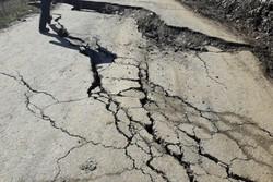 رانش زمین جاده ارتباطی کوثر – خلخال را مسدود کرد
