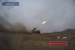 VIDEO: IRGC drill test-fires rockets with pinpoint precision