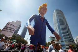 تظاهرات مکزیکی ها علیه ترامپ