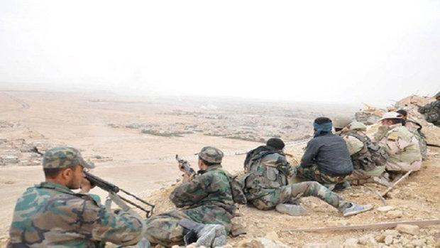الجيش السوري يتقدم من مثلث تدمر باتجاه المدينة الاثرية