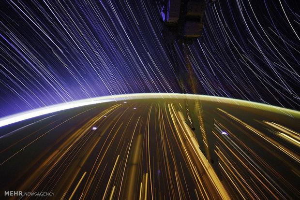 تصاویر فضانورد آمریکایی از فضا