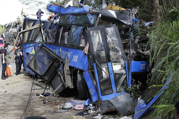 تصادف مرگبار در فیلیپین