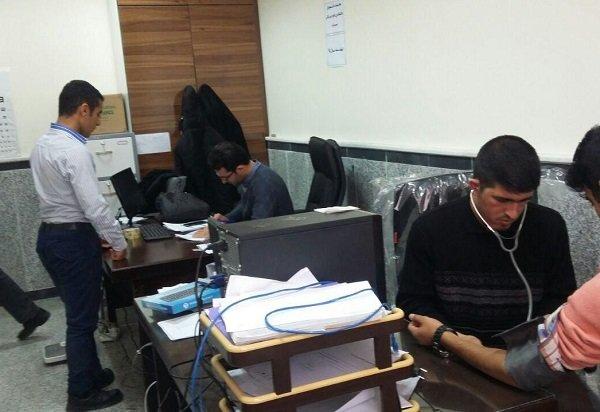تشکیل شناسنامه سلامت برای دانشجویان در سراب