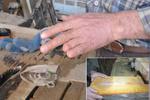 انگشتانی که قطع میشوند تا قم دومین قطب تولیدات چوبی کشور شود