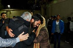 تحویل گروگان آزاد شده به خانواده